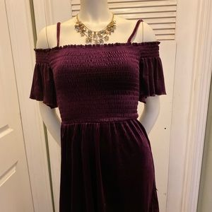 Aeropostale girls velour dress